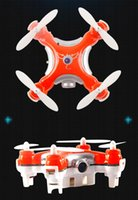 Wholesale 2015New CX10C Mini RC Helicopter G CH Axis RC Quadcopter with Camera RTF MODE2