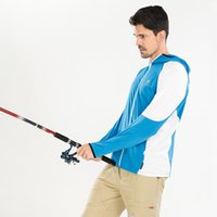 Wholesale Breathable Anti UV Full Sleeve Men s Fishing Clothing Male Quick drying Rip Stop Sun Protection Shirts Outdoor Man s Jacket