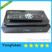 Wholesale Original Skybox F5S HD Full P Satellite Receiver Box With VFD Display Support USB Wifi Ccam Newcam Youtube Youpron