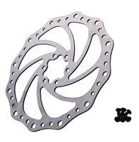 Wholesale 1PC Silver MM Cycling Bicycle Brake Disc Rotors Bike Brake Disc Stainless Steel Brake Rotors