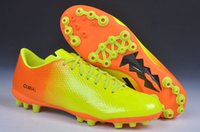 elastic band for shoes - 2015 Top Quality Soccer Boots Mer Vap IX AG Football Shoes Men s CR Soccer Shoes Boots for men size