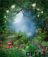 background for photo - Thin Vinyl Photography Backdrop Fairy Tale Dream Forest Pattern Photo Studio Background High Quality Backdrops For Sale x7ft DF114