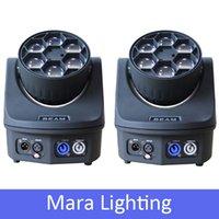 bees lighting - New XLot Mini Bee Eyes W Led Beam Moving Head Light RGBW Stage Lighting Effect Party Dj Light Show