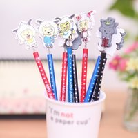 animations bag holders - Limited selling cartoon animation pencil the whole package sold Several Shippings