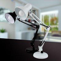 best glass painting - 5W LED desk lamp Adjustable brightness touch sensor fashion table light best novelty gift reading Led desk lamp