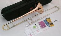 Wholesale Bach TR Bb tenor trombone tone down Bach trombone instrument phosphor bronze material copper nickel alloy telescopic tube