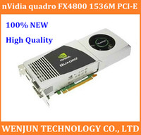 best graphics cards - High quality nVidia quadro FX4800 M DDR3PCI E video card DVI HDMI graphic card best price for your choose order lt no track