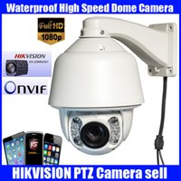 ptz camera auto tracking - 7 quot Waterproof Hikvision Module Network ip camera HD1080P M X20 PTZ D N ptz camera speed dome with auto tracking