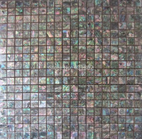 Wholesale 2 Green Abalone Shell Mosaic tile ceramic tiles for bathroom mosaic tiles green green abalone mosaic ceramic backsplash tile