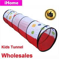 kids indoor play equipment - Wholsales Childern Playing Indoor Outdoor Fun Tunnel Kids Play Game playground equipment multi function tent child exercise toy