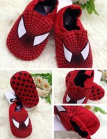 Wholesale fashion Cartoon men and women baby cotton cloth shoes baby soft bottom floor toddler shoes pairs