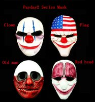 advance party - Halloween Mask Gifts Payday2 series theme Collector s Edition game advanced resin RPG party