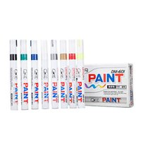 Wholesale Colorful Permanent Paint Pen Tire Metal Outdoor Marking Ink Marker color