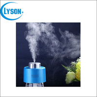 air bottles - Mini Air Humidifier mm USB Cable Control Desktop Bottle Steam Air Mist Discharge Diffuser Office Home Room Car bottle cap Humidifiers