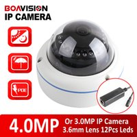 Wholesale New Realtime Full HD Dome MP MP IP Camera Outdoor POE mm Lens Angle CCTV Security Camera Night vision