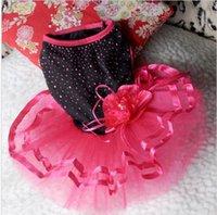 dog wedding dress - Cute Pet Dog Tutu Dress Lace Skirt Cat Princess Clothes Party Dress Style XS L