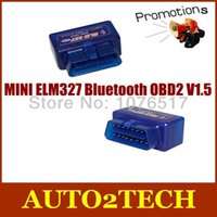 Wholesale MINI ELM327 Bluetooth OBD2 V1 MINI ELM327 Bluetooth OBD2 EOBD