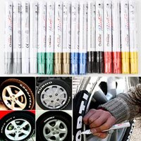 Wholesale Hot Sale BLACK Tyre Permanent Paint Pen Tire Metal Outdoor Marking Creative Drop Shipping