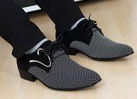 al por mayor zapato de los hombres de oficina-Nuevos zapatos de cuero de los hombres de la oficina de los zapatos de vestido de los hombres del juego de los hombres de la marca de fábrica del cordón de la manera que acentúan los zapatos de negocio masculinos