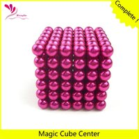magic rose - Neocube mm Magnetic balls Rose Red Color buckyballs at metal tin box
