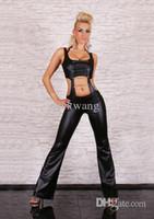 Wholesale PVC Women Lingerie Teddie ClubWear Underwear Jumpsuit Catsuit Fancy Dress Y11320