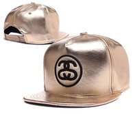 stussy - hot sale leather hip hop Stussy street hats men leather snapback adjustable ball caps for men women winter hats TX