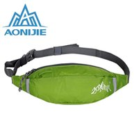 Wholesale AONIJIE Amazing Multi function Outdoor Sports Hiking Traveling Hunting Waist Bags money belt Waterproof Motion Running Pocket