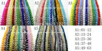 beads string string glass beads - pc String mm Glass Crystal faceted Beads color pick fit bracelet or neckalce G402