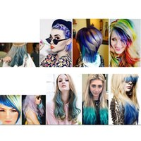Wholesale 24 Colors Hair Chalk Set Short Type Non Toxic Temporary Hair Dye Colour Soft Pastels DIY Painting for All Hair Types DHL Shipping