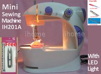 Wholesale Hot Selling Electric Household Mini Sewing Machine with LED Light and Power Supply Handwork DIY Sartorially