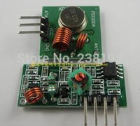 Wholesale 433M super regenerative receiver module high frequency radio transmitter module transmitter receiver set