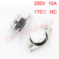 Wholesale KSD301 C Celsius Temperature Switch Thermostat Thermal Protector Normally Closed Assorted Kit