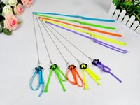 Wholesale 2015 New Arrival Fashion Parrot Bird Soft Fashion Multicolor Adjustable Anti bite Light Harness Leash of meters