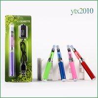 Wholesale Ce5 Vaporizer Kit - Ego ce5 Ego t Battery Blister Kit 1.6ml no Wick Electronic Cigarettes Vaporizer 650mah 900mah 1100mah E Cig 10 colors kit