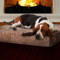 Wholesale Extra Large Memory Foam Dog Bed With Removable Cover x