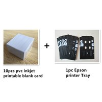 Wholesale Plastic PVC ID card Inkjet printer tray for Epson R270 R280 R285 L800 L801