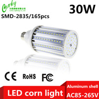 cooler pack - CE ROHS FCC Approval LED Corn Light AC85 V W lm SMD2835 Warmwhite Coolwhite Beam Angle Pack of Freeshipping