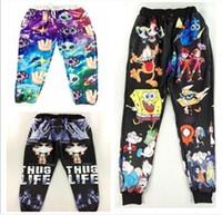 Wholesale jeans Mens Joggers Emoji Joggers Sweat pants Star Black D Skinny men hip hop pants Calca Mens Baggy Jogging Pants
