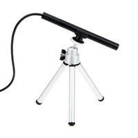 Wholesale Mini HD LED Portable Lupas Fe Aumento X USB Digital MP Pen Manual Focus Microscope Endoscope Magnifier Camera with Tripod H13925