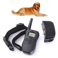 accessories level control - 100LV Level meter LCD Electric Shock Pet Dog Training E Collar Remote Control Anti Bark