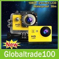 Cheap Green go pro Best MicroSD / TF HD 1080P sj4000