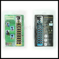 Wholesale Mini CM Digital Camera Stand Flexible Leg Tripod Grip Octopus Bubble Pod Monopod Mobile Phone Holder Clip mm Colors