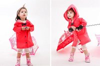 ally - 2015Sm ally for primary school students bow princess child raincoat male female child baby poncho rain gear