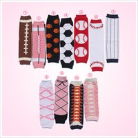 kids leg warmer - Kids American Brown Football Leg Warmers Cotton Toddler Leg Warmers Infant Socks Baby Leggings Kids Coffee Leg Warmer