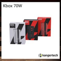 Bon Marché Réservoir de turbo arctique-Kanger KBOX 70W TC Mod batterie 4400mah Mod 100% d'origine Meilleur résultat Arctique Turbo Uwell Couronne réservoir TFV4 Mini