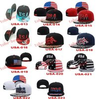 patriotic caps - USA Flag Patch USA American Patriotic Polo Style ADJUSTABLE SNAPBACKs Baseball CAP HAT Caps Hats Cheap fashion street SNAPBACK cap