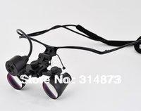 Cheap Free Shipping 3.5X HF350 Ultra-Light Metal Half frame Binocular Dental Loupes Surgical Loupes with SZ-1 Headlight