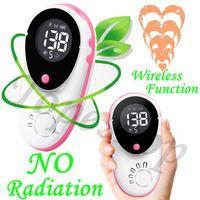 Wholesale CE ISO certification MHZ probe LCD display Wireless Fetal Doppler BABY Heartbeat Prenatal Heart monitor