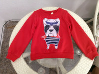 Wholesale 2015 new autumn children sweater cartoon dog homemade cotton long sleeved shirt models
