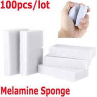 Wholesale 1510 Esponja Magica Para Limpeza Magic Sponge Cleaner Eraser Melamine Sponge for Cleaning Cooking Tools Magic Eraser